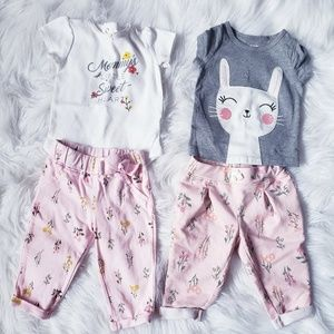 Carter's Baby girl Outfit Sets
